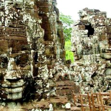 The Bayon Temple in Cambodia