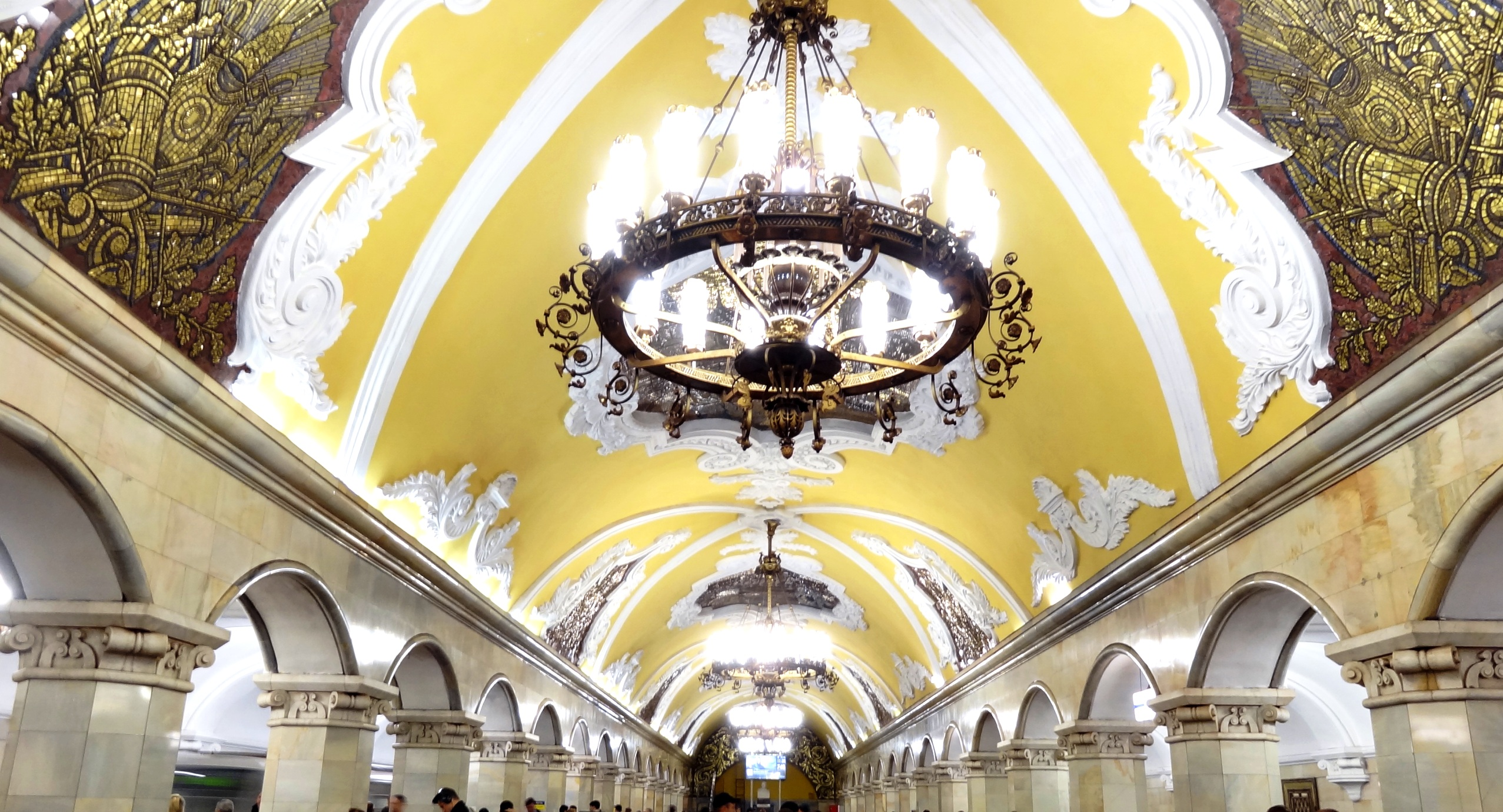 Moscow Metro Stations- Work of Art!