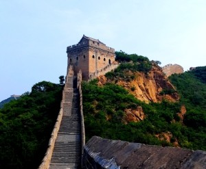 Hiking on the Great Wall