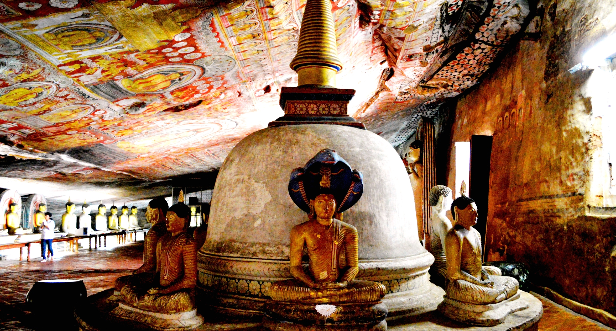 Dambulla Cave Temple: 1st Century BC Buddhist Treasures