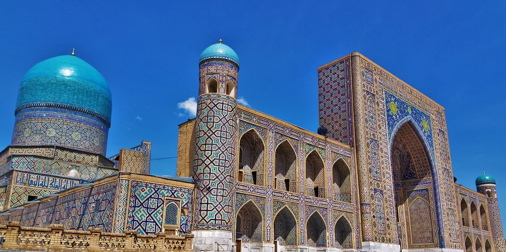 50 Shades Of Blue Samarkand