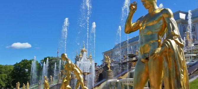 Peterhof Palace in St Petersburg- Versailles is nowhere close!