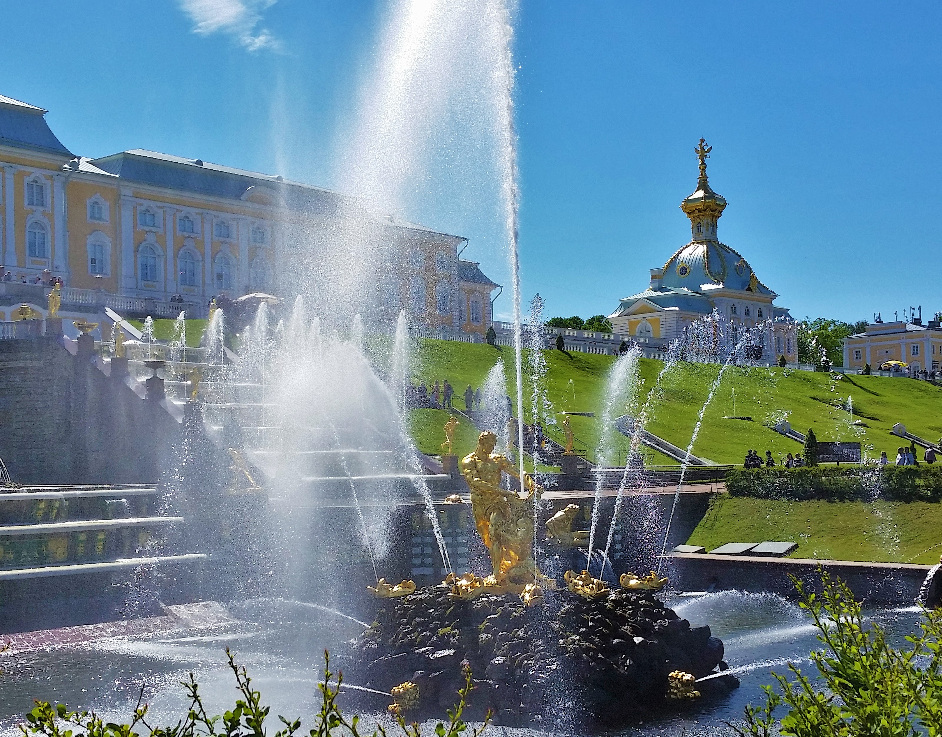 Peterhof Palace in St Petersburg- Versailles is nowhere close!