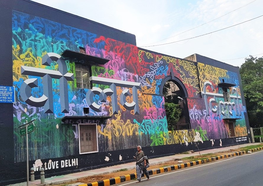 Lodhi Art District - India's first and largest open air public art district!