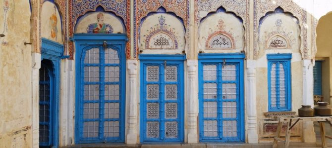 Havelis in Shekhawati – A Large Open Art Gallery!